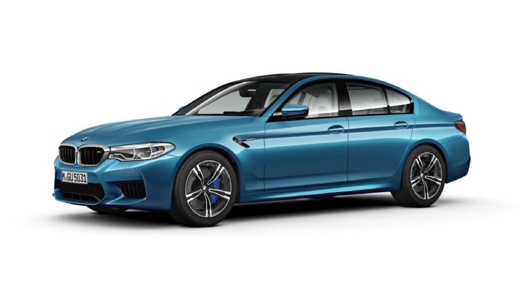 BMW  M5 Snapper Rocks Blue Metallic Colour