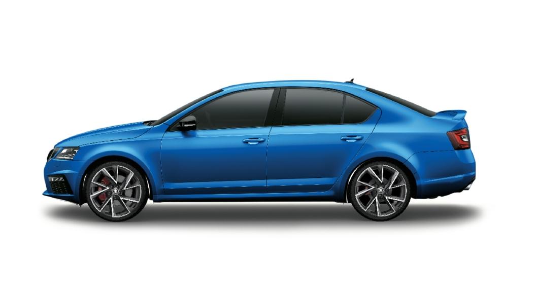 Skoda  Octavia Race Blue Colour