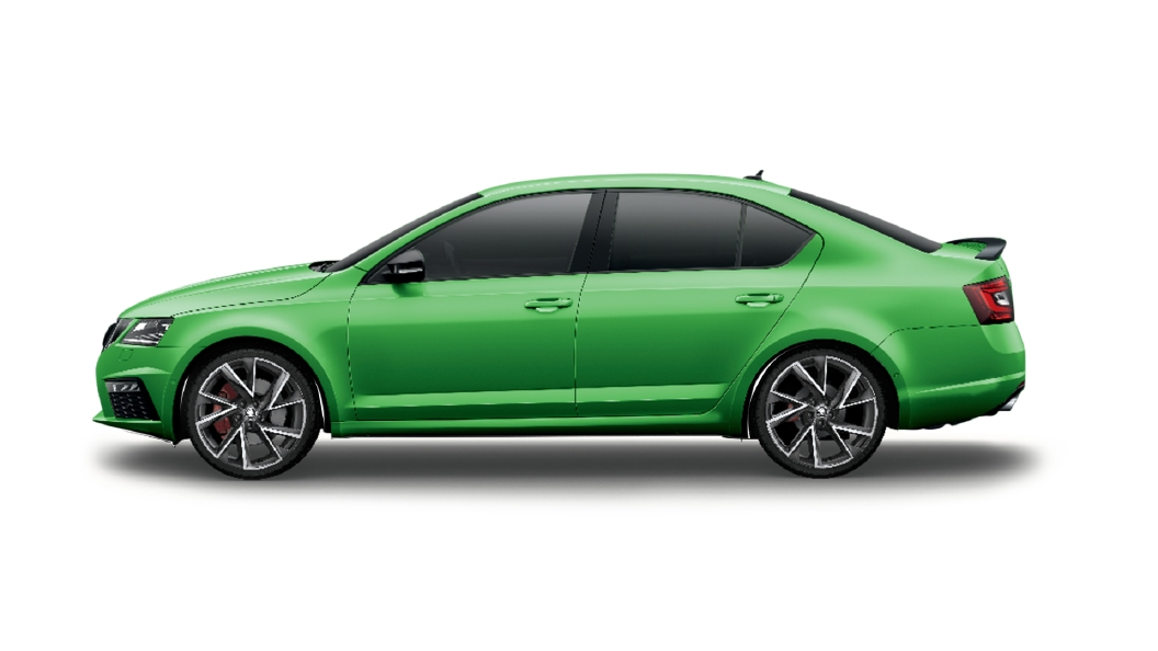 Skoda  Octavia Rallye Green Colour