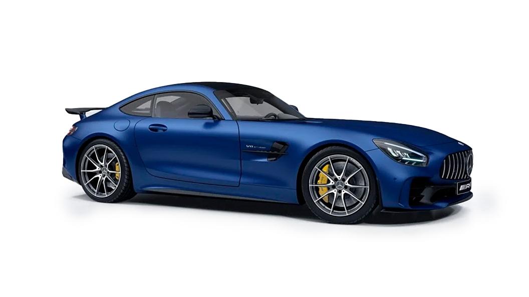 Mercedes Benz  AMG GT Brilliant Blue Colour