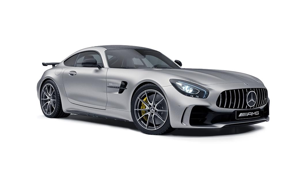 Mercedes Benz  AMG GT Designo Iridium Silver Magno Colour