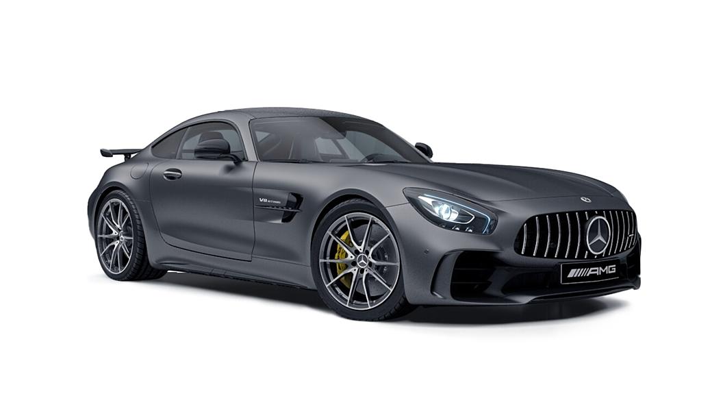 Mercedes Benz  AMG GT Designo Selenite Grey Magno Colour