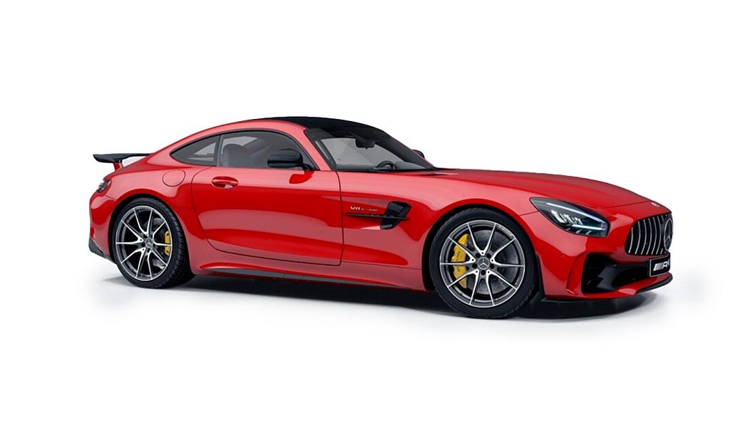 Mercedes Benz  AMG GT Jupiter Red Colour