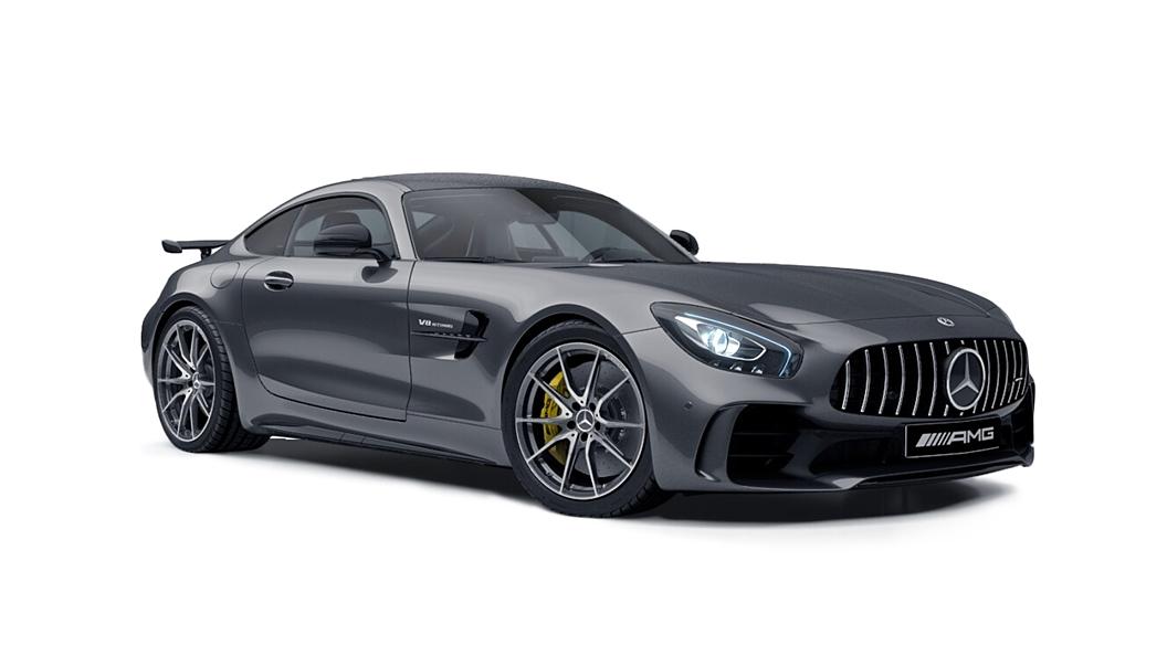 Mercedes Benz  AMG GT Selenite Grey Colour