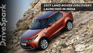2017 Land Rover Discovery Launched In India
