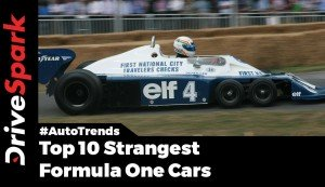 Strange And Ugly F1 Cars Of All Time