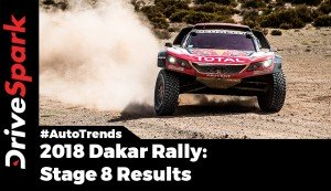 2018 Dakar Rally Stage 8 Results