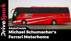 Michael Schumacher Ferrari Bus Auction