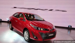 Auto Expo 2018: Toyota Yaris India Walkaround; Specifications, Features, Details