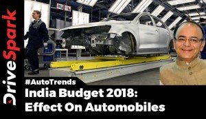 Budget 2018 India Automotive Industry