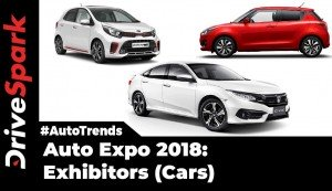 Auto Expo 2018 Car Brands