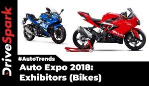 Auto Expo 2018 Bike Brands