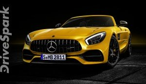 MercedesAMG GT S Roadster  Loud, Fast & Yellow