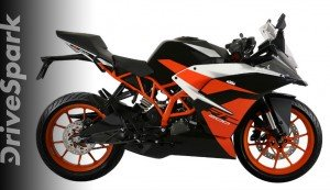 The KTM RC200 Gets A New Black Finish