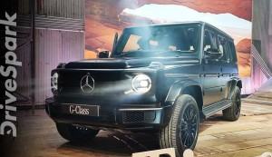 Mercedes-Benz G 350d Launched In India  First Look & Walkaround  Prices, Specs, Features & Details