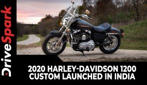 2020 Harley-Davidson 1200 Custom Launched In India | Prices, Specs, Features & Other Details