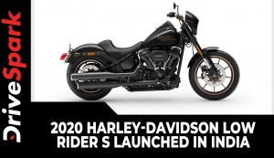 2020 Harley-Davidson Low Rider S Launched In India | Prices, Specs, Features & Other Details