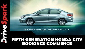 Fifth Generation Honda City Bookings Commence| Specs, Features, Launch & Other Details