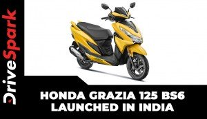Honda Grazia 125 BS6 Launched In India | Prices, Specs, Features & Other Details
