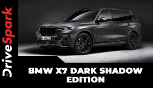 BMW X7 Dark Shadow Edition | A Special Edition SUV Limited To Just 500 Units Worldwide