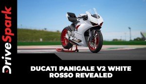 Ducati Panigale V2 White Rosso Revealed | Details | Specs | Expected Price