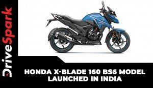 Honda X-Blade 160 BS6 Model Launched In India | Details | Specs | Price