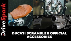 Ducati Scrambler Official Accessories | Product List, Prices, & All Other Details