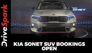 Kia Sonet SUV Bookings Open