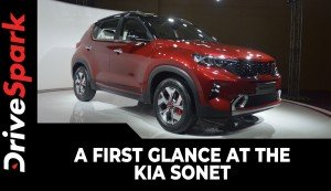 Kia Sonet First Look | Expected Launch Date, Prices, Specs & Other Details