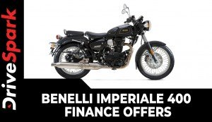 Benelli Imperiale 400 Finance Offers | All The Details