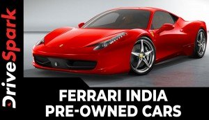 Ferrari India Pre-Owned Cars | Warranty For India & Middle-Eastern Market