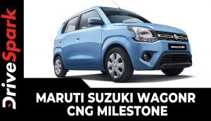 Maruti Suzuki WagonR CNG Milestone | Becomes India's Highest-Selling CNG Vehicle