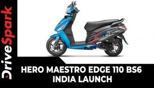 Hero Maestro Edge 110 BS6  | India Launch | Specs, Features, Updates, Bookings & Other Details