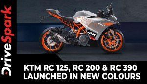 KTM RC 125, RC 200 & RC 390 Launched In New Colours | Price & Other Details
