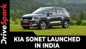 Kia Sonet Launched In India | Prices, Variants, Specs, Features & All Other Details