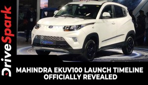 Mahindra eKUV100 Launch Timeline Officially Revealed | Specs, Delivery & Other Details