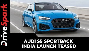Audi S5 Sportback India Launch Teased | Expected Date, Prices, Specs & Other Details