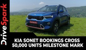 Kia Sonet Bookings Cross 50,000 Units Milestone Mark | New Achievement