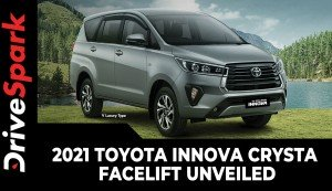 2021 Toyota Innova Crysta Facelift Unveiled | Expected Launch Date, Prices, Specs & Other Details