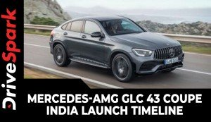 Mercedes-AMG GLC 43 Coupe India Launch Timeline | Expected Price, Specs & Other Details