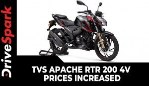 TVS Apache RTR 200 4V Prices Increased | Festive Discounts Offered | All Other Details