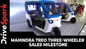 Mahindra Treo Three-Wheeler Sales Milestone | 5000 Units Of Sales Since Launch | Details