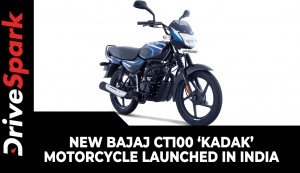New Bajaj CT100 'Kadak' Motorcycle Launched In India | Prices, Specs, Features & Other Details