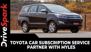 Toyota Car Subscription Service | Partner With Myles | New Offers & Details