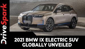 2021 BMW iX Electric SUV Globally Unveiled | Range, Charging, Performance & Other Details