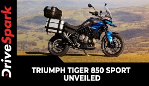 Triumph Tiger 850 Sport Unveiled | Expected Launch, Prices, Specs, Features & All Other Details