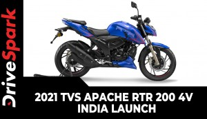 2021 TVS Apache RTR 200 4V | India Launch | New Riding Modes, Adjustable Suspension & Other Updates