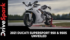 2021 Ducati SuperSport 950 & 950S Unveiled | Expected Launch, Prices, Specs, Features & Other Details