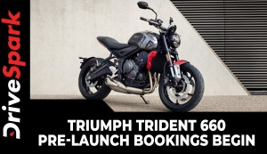 Triumph Trident 660 Pre-Launch Bookings Begin | Expected Launch Date, Prices, Specs & Other Details