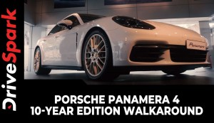 Porsche Panamera 4 10-Year Edition | First Look & Walkaround | Specs, Features & Other Details